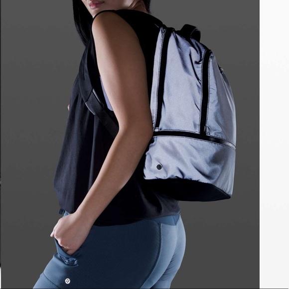 Lululemon City Adventurer Backpack - REFLECTIVE!